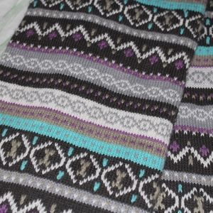 dELiA*s Patterned Winter Scarf